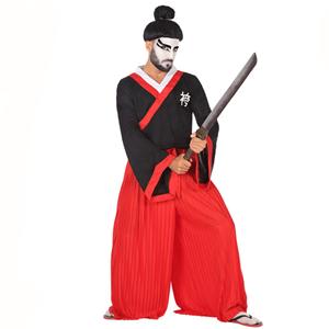 Fato Samurai Artes Marciais, Adulto