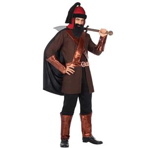 Fato Samurai Guerreiro, Adulto