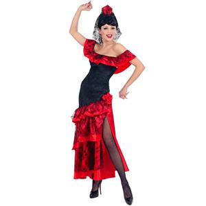 Fato Dançarina Sevilhana, Adulto
