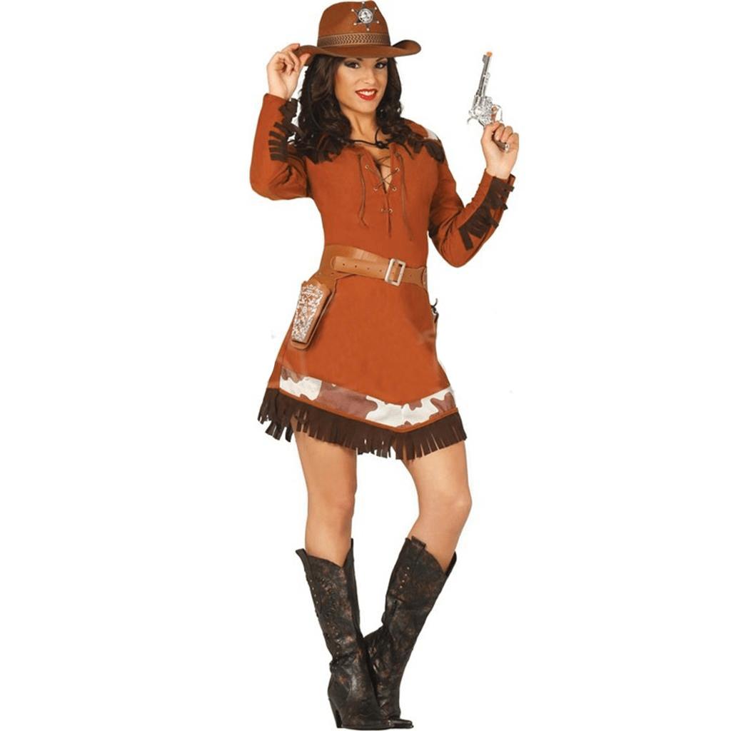 Fato Sherif Cowgirl