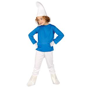 Fato Smurf, criança