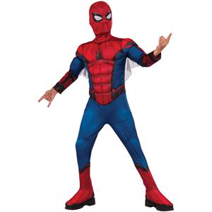 Fato Spiderman Deluxe, Criança