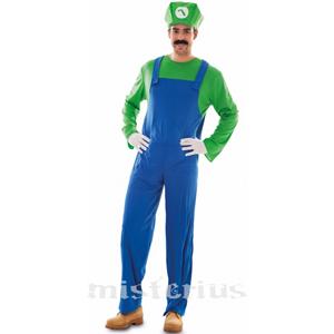 Fato Super Canalizador Luigi, Adulto