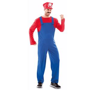 Fato Super Canalizador Mário, Adulto