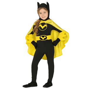 Fato Super Heroina Preto, Criança
