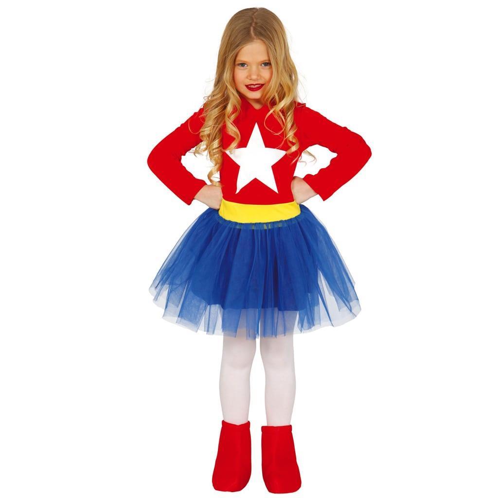Fato Super Heroína Star, Criança