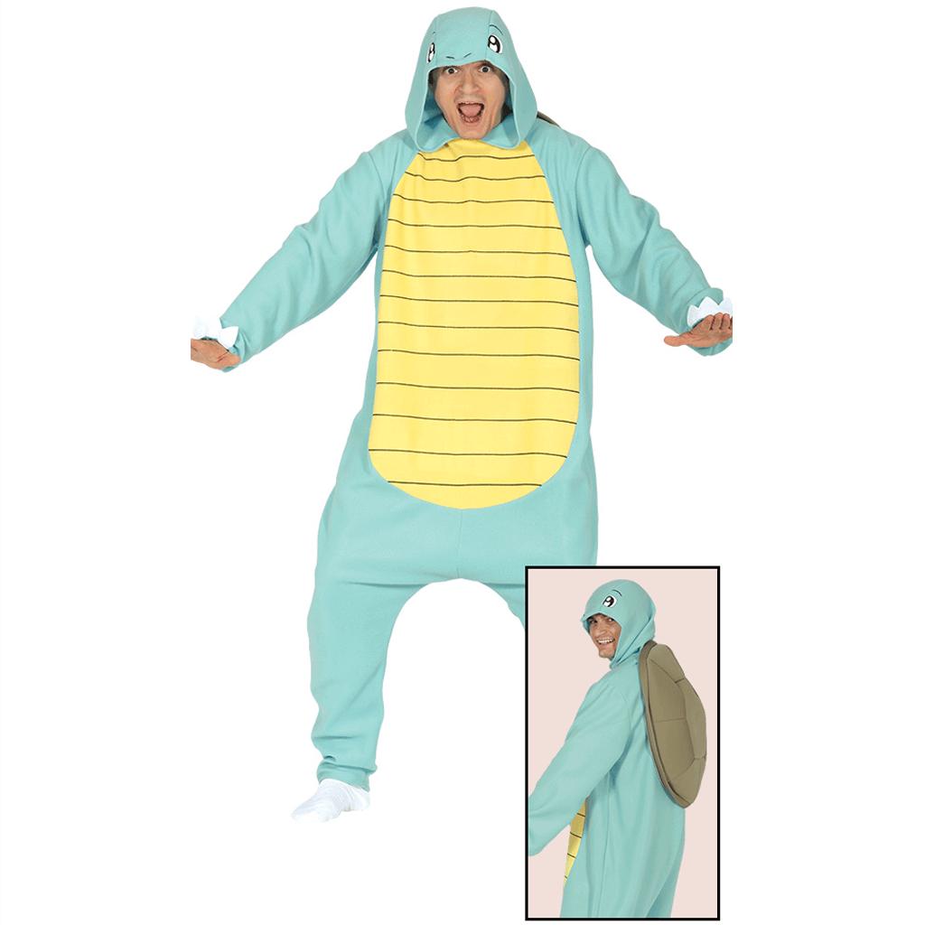 Fato Tartaruga Squirtle Azul, Adulto