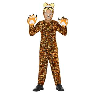 Fato Tigre Listado, Criança