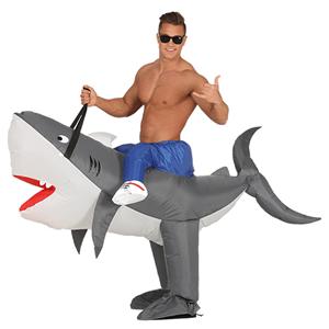 Fato Tubarão Feliz, Adulto