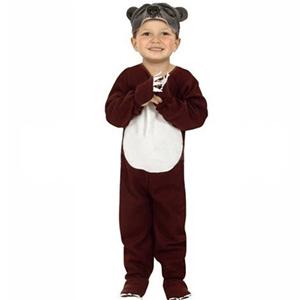 Fato Urso Castanho, criança