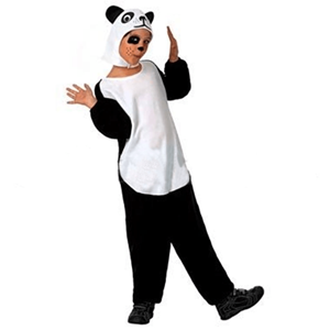 Fato Urso Panda, criança