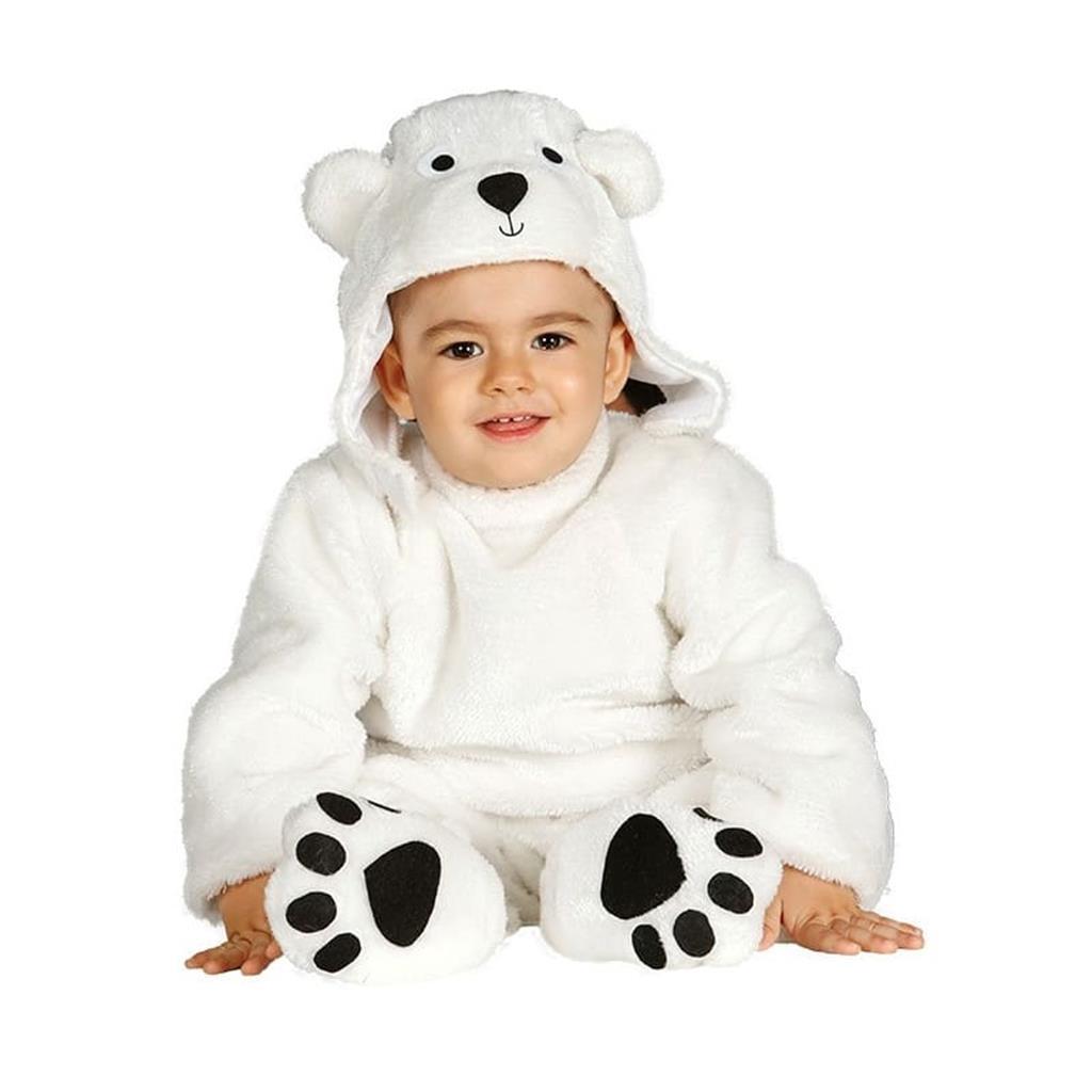 Fato Urso Polar Bébe