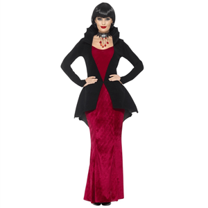 Fato Vampira Governadora, Adulto