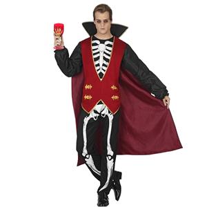 Fato Vampiro Esqueleto