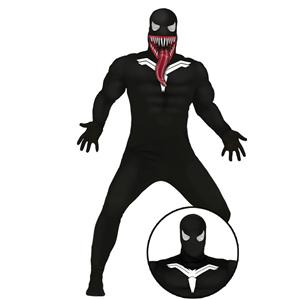 Fato Venom Preto, Adulto