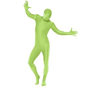 Fato Verde Elástico
