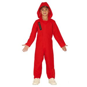 Fato Vermelho com Capuz, Criança