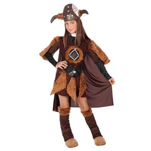 Fato Viking Menina, criança