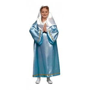 Fato Virgem Maria Azul, criança