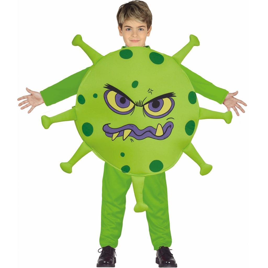 Fato Vírus Covid Verde, Criança