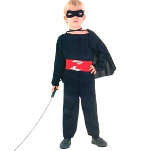 Fato Zorro, Criança