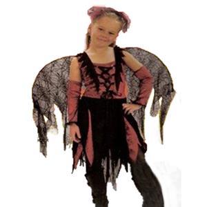 Fato Fada Aranha Infantil - Halloween