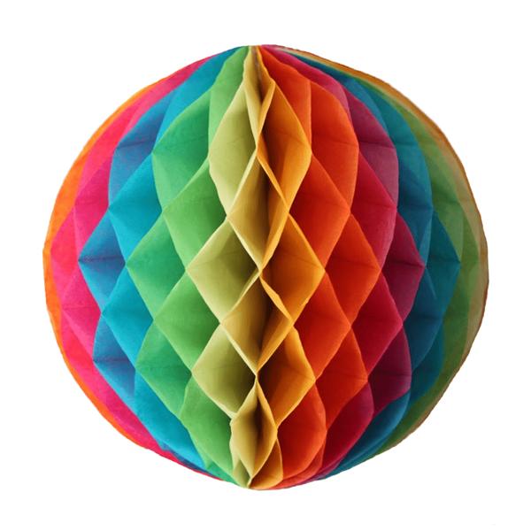 Favo Papel Multicolor, 20cm