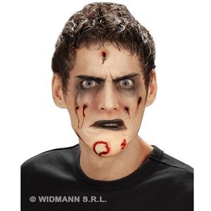 Ferida Zombie Queixo