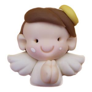 Figura Anjinho a Rezar em Biscuit