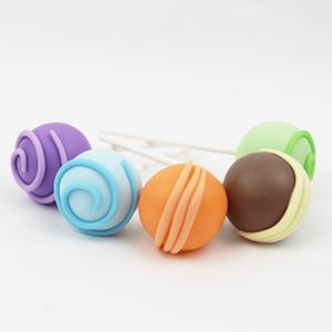 Figura Cakepops em Biscuit