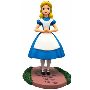 Figura Decorativa Alice no País das Maravilhas