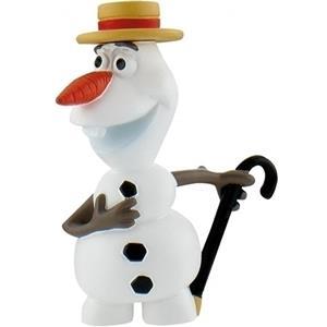 Figura Decorativa Para Bolos Olaf com Chapéu