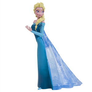 Figura Decorativa para Bolos Princesa Elsa Frozen