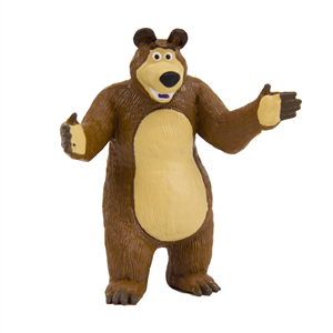 Figura Decorativa para Bolos Urso