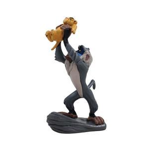 Figura Decorativa Rafiki e Simba Bebé