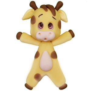 Figura Girafa em Biscuit