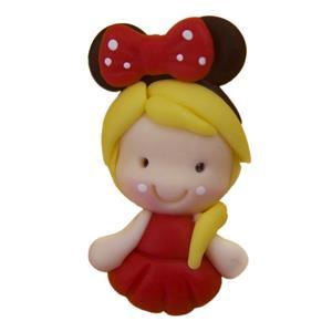 Figura Princesa Minnie em Biscuit