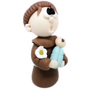 Figura Santo António em Biscuit