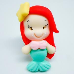 Figura Sereia Ariel em Biscuit