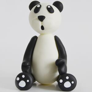 Figura Urso Panda Biscuit