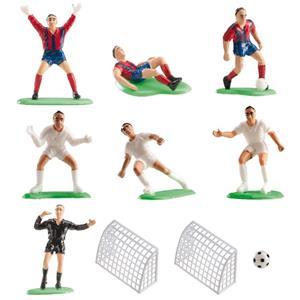 Figuras Decorativas para Bolos Futebol, 10 unid.