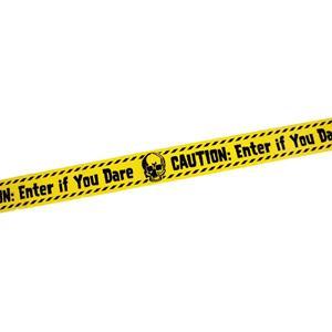 Fita Aviso Caution: Enter If You Dare, 6 mt