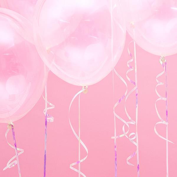 Fita para Balões Iridescente, 225 mt