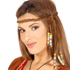 Fita para Cabeça Hippie com Missangas