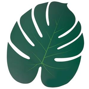 Folhas Tropicais Decorativas, 5 unid.