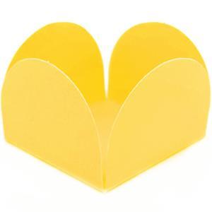 Forminhas Amarelas para Doces, 25 unid.