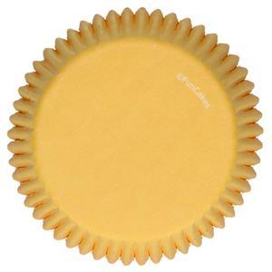 Formas Cupcake Amarelas, 48 unid.