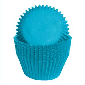 Formas Cupcake Azul em Papel, 75 unid.
