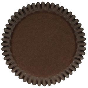 Formas Cupcake Castanhas, 48 unid.