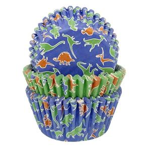 Formas Papel Cupcake Dinossauro, 75 unid.